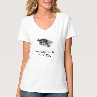 Vienna No Gondolas Austria No Kangaroos T-Shirt