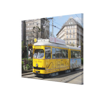 Vienna Ring Tram Canvas Print