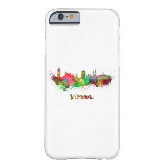 Vienna skyline in watercolor barely there iPhone 6 case