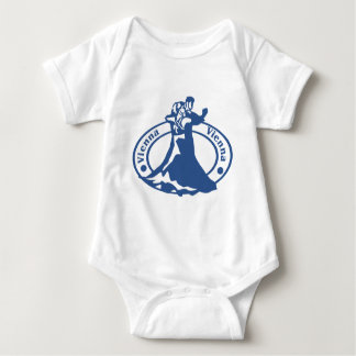 Vienna Stamp Baby Bodysuit
