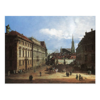 Vienna, the Lobkowitzplatz by Bernardo Bellotto Postcard