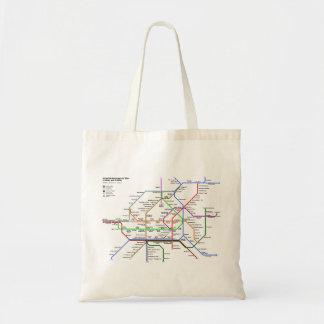 Vienna tube map Bag