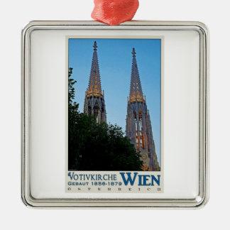 Vienna - Votivkirche Metal Ornament
