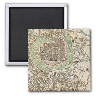 Vienna Wien Square Magnet