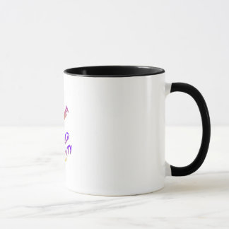 Vienna world city , colorful text art mug
