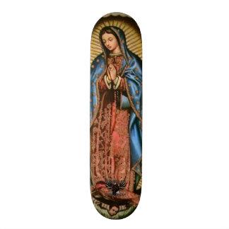"""""""Vierge Marie """" Skateboard Old School 18,1 Cm"""