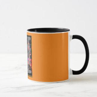 """VIERING"" 11 oz. RINGER AFRICAN COFFEE MUG"