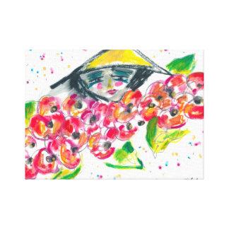 Vietmamese Woman Canvas Print