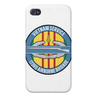 Vietnam Arrowhead CIB 173rd iPhone 4 Cover