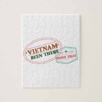 Vietnam Been There Done That Jigsaw Puzzle