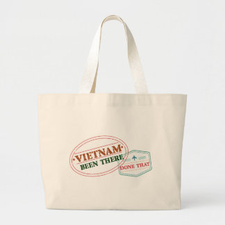 Vietnam Been There Done That Large Tote Bag