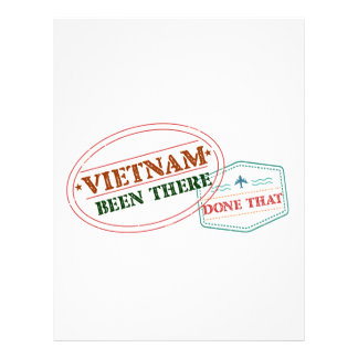 Vietnam Been There Done That Letterhead