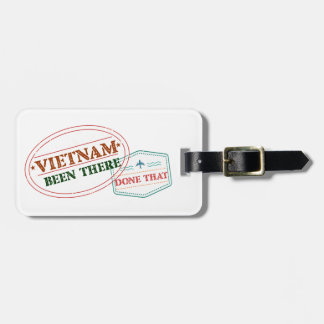 Vietnam Been There Done That Luggage Tag