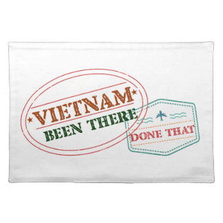 Vietnam Been There Done That Placemat