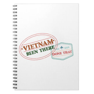 Vietnam Been There Done That Spiral Notebook