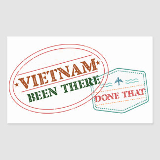 Vietnam Been There Done That Sticker