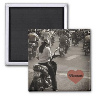 Vietnam bikes magnet