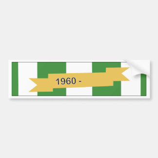 Vietnam Campaign Ribbon Bumper Sticker