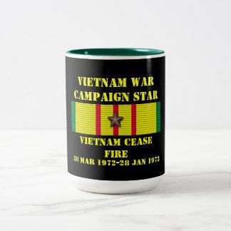 Vietnam Cease-Fire / Campaign Two-Tone Coffee Mug
