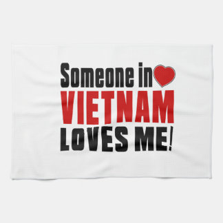 VIETNAM Celebrating Years Of Being Awesome Kitchen Towel