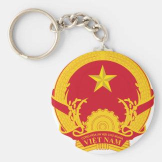Vietnam Coat Of Arms Keychain