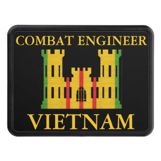 Vietnam Combat Engineer Insignia Hitch Cover
