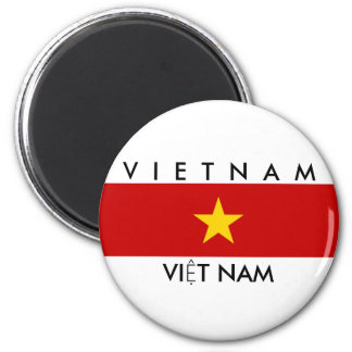 vietnam country flag name text symbol magnet