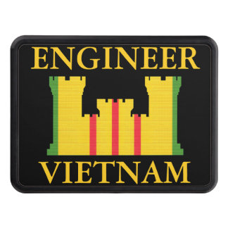Vietnam Engineer Insignia Hitch Cover
