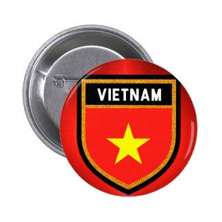Vietnam Flag 2 Inch Round Button