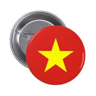 Vietnam Flag Button