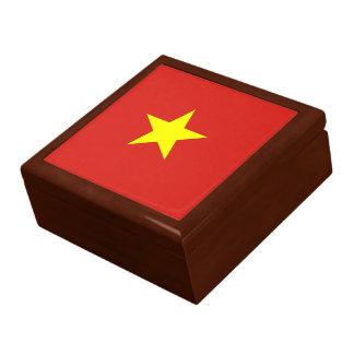 Vietnam flag gift box