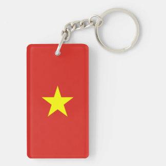 Vietnam Flag Keychain