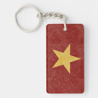 Vietnam Flag Keychain Souvenir