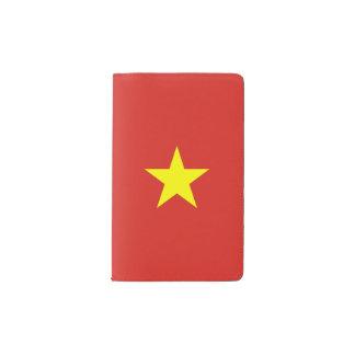 Vietnam Flag Pocket Moleskine Notebook