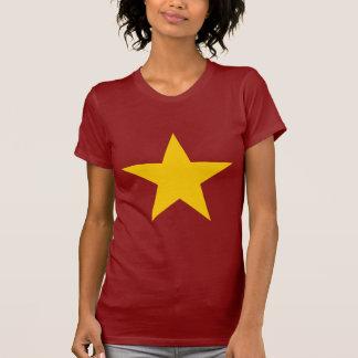 Vietnam Flag Star T-Shirt