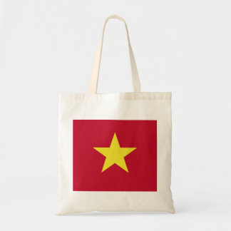 Vietnam flag tote bag