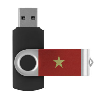Vietnam flag USB flash drive