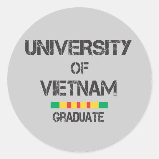 Vietnam graduate D 1 sticker