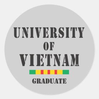 Vietnam graduate stencil sticker
