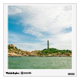 Vietnam Highest Oldest Lighthouse Photo Poster Wall Sticker