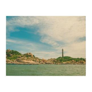 Vietnam Highest Oldest Lighthouse Wood Wall Art