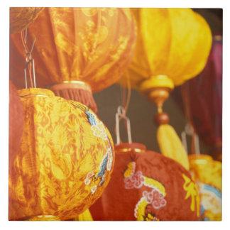 Vietnam, Hoi An Large lanterns, souvenirs Tile