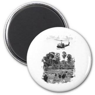 Vietnam Huey Landing Magnet