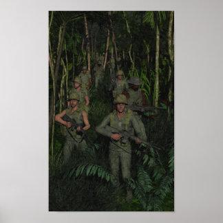 Vietnam: Jungle Patrol Poster