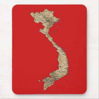 Vietnam Map Mousepad