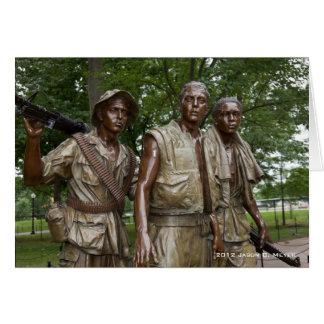 Vietnam Memorial Card