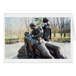 Vietnam Nurses Memorial Card