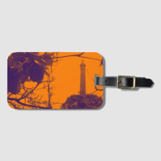 Vietnam Oldest Highest Lighthouse Orange Photo Luggage Tag