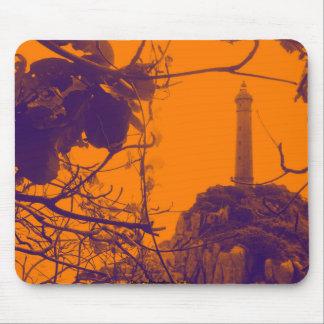 Vietnam Oldest Highest Lighthouse Orange Photo Mouse Pad