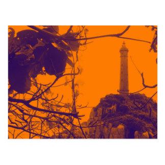 Vietnam Oldest Highest Lighthouse Orange Photo Postcard